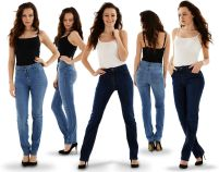 Ladies Straight Leg Jeans