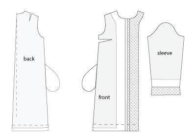 Coat Sewing Pattern