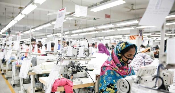 Bangladesh Knit Garments Factory