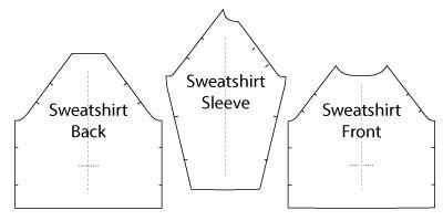 Sewing Sweatshirts Pattern